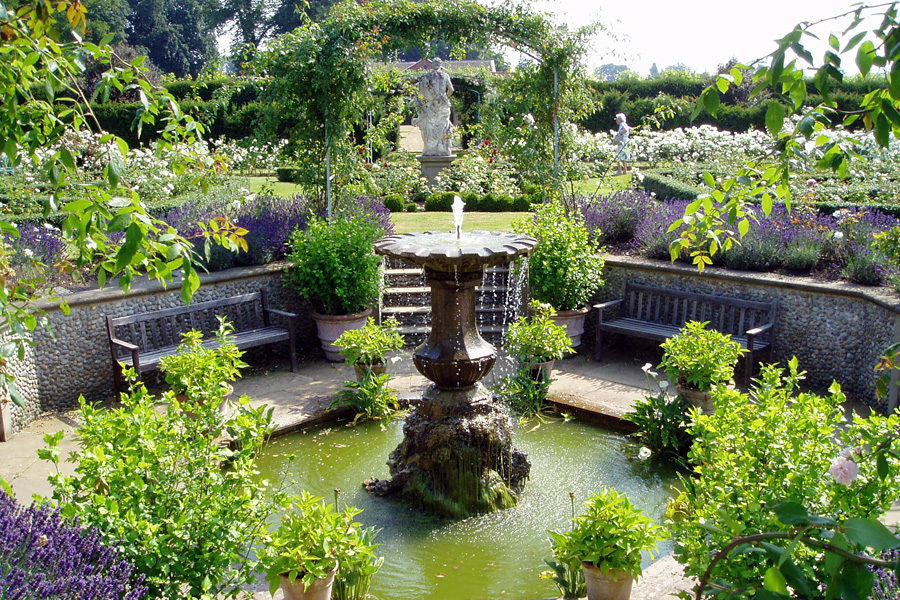The gardens at Houghton Hall