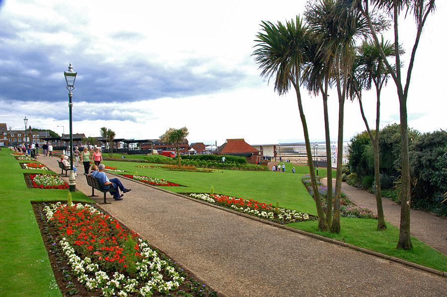 Public gardens at Hunstanton
