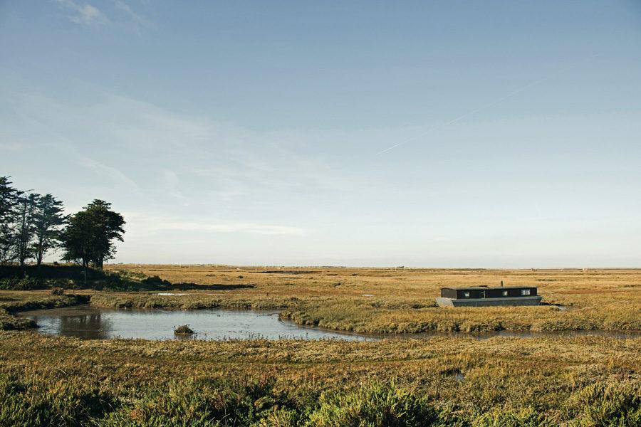 The Brancaster Staithe landscape