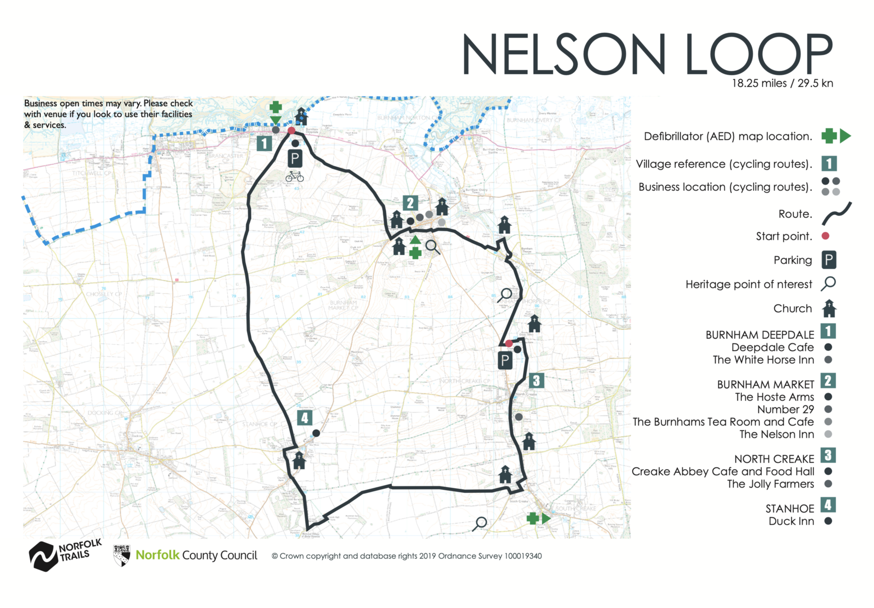 Nelson Loop Map